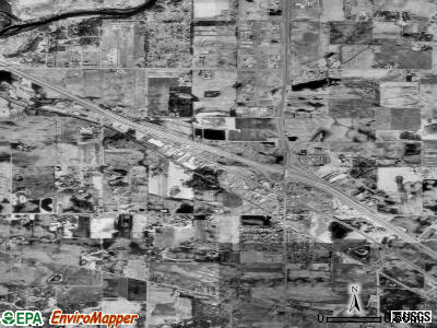 Rogers satellite photo by USGS