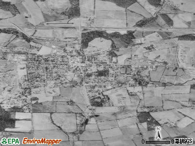 Purcellville satellite photo by USGS