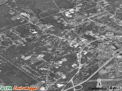 Yarmouth satellite photo by USGS