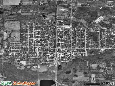 Johnston City satellite photo by USGS