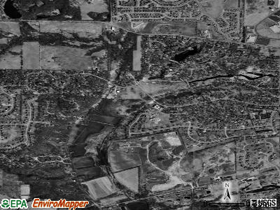 Sleepy Hollow satellite photo by USGS