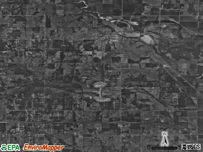 McLoud satellite photo by USGS