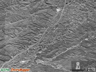 Unicoi satellite photo by USGS