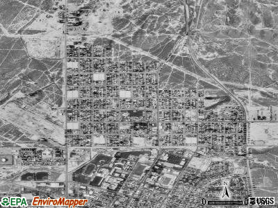 Ford City satellite photo by USGS
