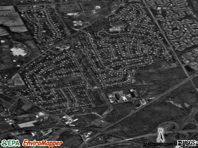 Woodbourne satellite photo by USGS