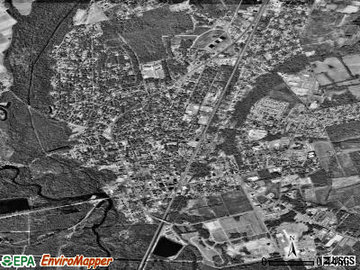 Kingstree satellite photo by USGS