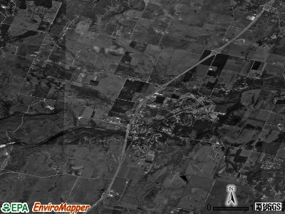 Salado satellite photo by USGS