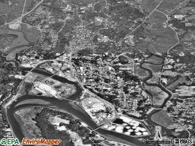 Toledo satellite photo by USGS