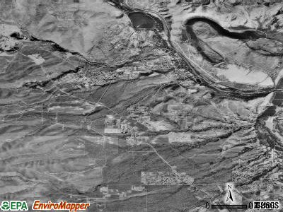 Clarkdale satellite photo by USGS