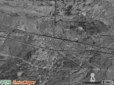 Lordsburg satellite photo by USGS