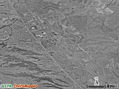 San Ramon satellite photo by USGS