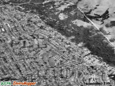 East Richmond Heights satellite photo by USGS