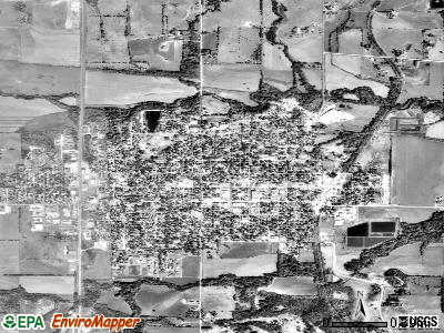 Holton satellite photo by USGS