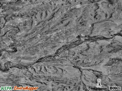 Lake Montezuma satellite photo by USGS