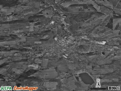 Wellsboro satellite photo by USGS