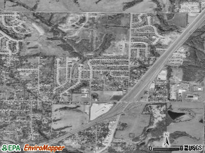 Pleasant Valley satellite photo by USGS