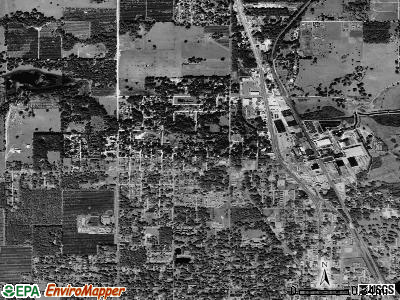 Dade City North satellite photo by USGS