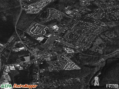 Vails Gate satellite photo by USGS