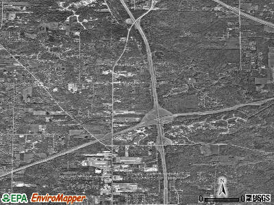 Richfield satellite photo by USGS