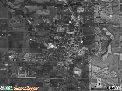 Stilwell satellite photo by USGS