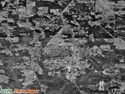 Hannahs Mill satellite photo by USGS
