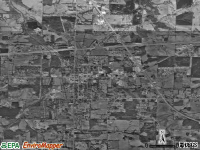 Moulton satellite photo by USGS