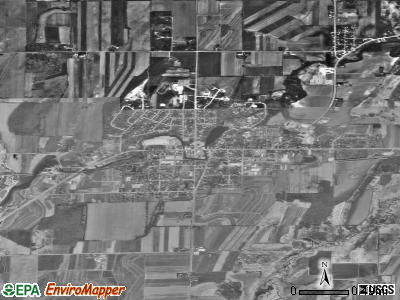 Waterloo satellite photo by USGS