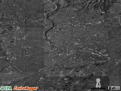 Rochester satellite photo by USGS