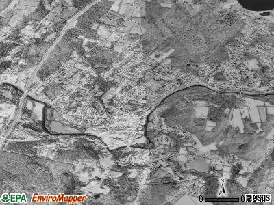 Moosup satellite photo by USGS
