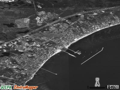 Provincetown satellite photo by USGS