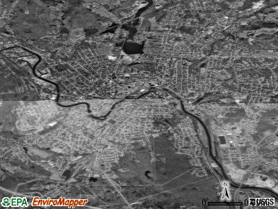Woonsocket satellite photo by USGS