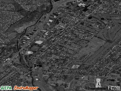 New York Mills satellite photo by USGS