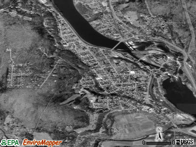 Bellows Falls satellite photo by USGS