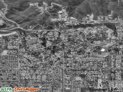 San Antonio Heights satellite photo by USGS