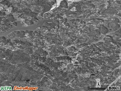 Meadow Vista satellite photo by USGS