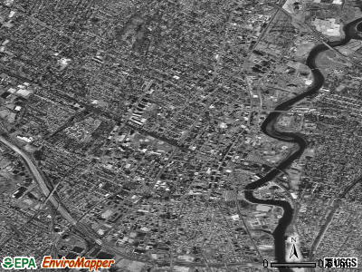 Hackensack satellite photo by USGS