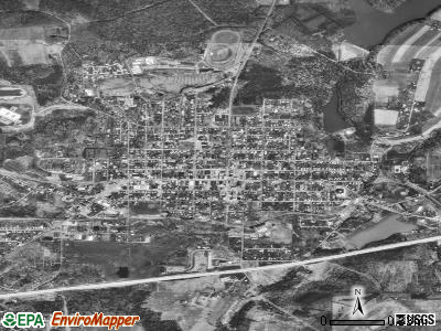 Ebensburg satellite photo by USGS