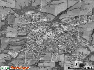 Windsor satellite photo by USGS