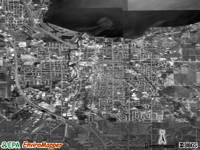 Fond du Lac satellite photo by USGS