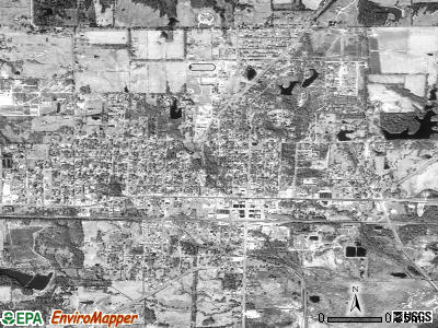 Grand Saline satellite photo by USGS