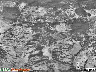 Jamestown satellite photo by USGS