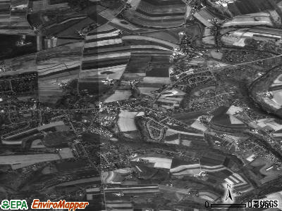 Rothsville satellite photo by USGS