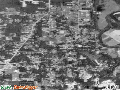 Cathcart satellite photo by USGS