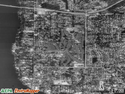Medina satellite photo by USGS