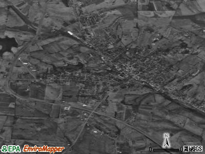 Flemingsburg satellite photo by USGS