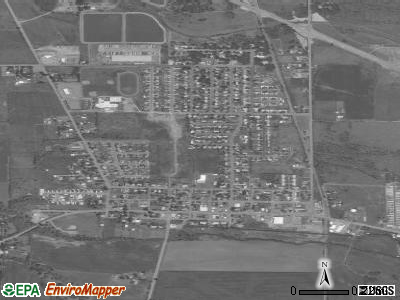 Aumsville satellite photo by USGS