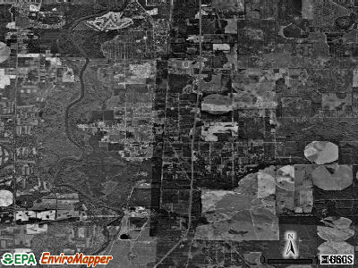 Putney satellite photo by USGS