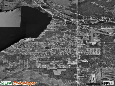 St. Helen satellite photo by USGS
