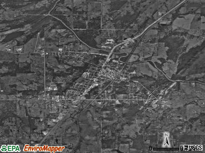 Atoka satellite photo by USGS