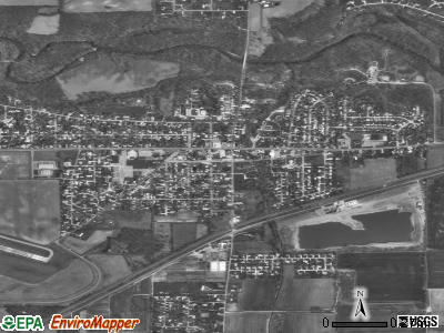 Chesterfield satellite photo by USGS